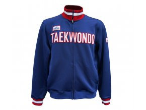 mikina daedo taekwondo slim blue