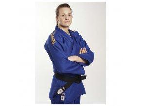 Ippon gear kabátek na judo Legendd Slimfit modrá