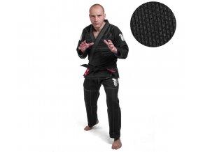 Fighter kimono BJJ Rice Straw černá