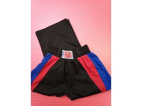 Top Ten kalhoty KICK BOX Bavlna (Velikost 190, Barva ČERNÁ)