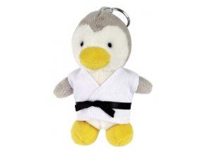 kampfsport anhaenger plueschtier pinguin dax 184x260
