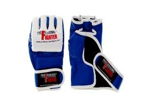 PROFESSIONAL FIGHTER MMA RUKAVICE PROFI Blue (Barva Modrá, Velikost XL)