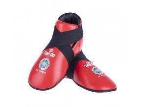 Chrániče nohou Daedo ITF červená