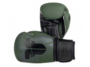 BOXERSKÉ RUKAVICE FIGHTER BOX MUAY THAI KHAKI