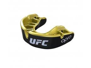 Chrániče zubů OPRO UFC BLACK GOLD (Barva ČERNÁ, Velikost SENIOR)