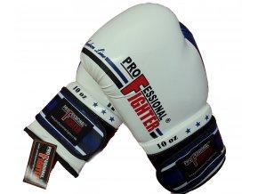 Boxerské rukavice Professional Fighter Carbon Line blue