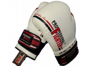 Boxerské rukavice Professional Fighter Carbon Line red