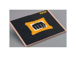 přerážecí deska černá kwon