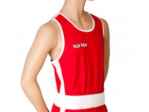 Boxerské tílko Top Ten Red