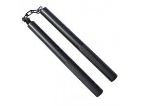 3000 nunchaku black steel dlouhe