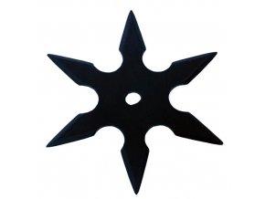 """Vrhací hvězdice """"NATTY"""" šesticípá černá"""