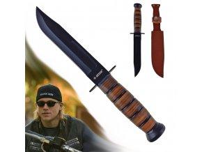 """Bojový pevný nůž """"KANDAR WARRIOR"""""""