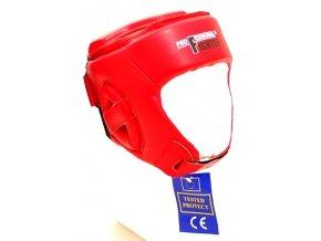 Přilba Professional Fighter Training červená (Velikost L, Barva ČERVENÁ)