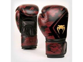 Boxerské rukavice Venum Contender 2.0 černo červená