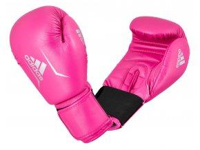 Boxerské rukavice Adidas Speed 50 růžová