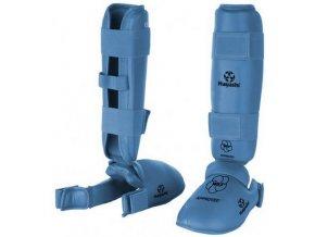 Chránič holeň a botička Hayashi WKF Blue (Barva Modrá, Velikost XL)
