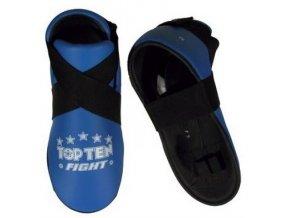 Chránič nohou Top Ten Fight (Barva Modrá, Velikost XL)