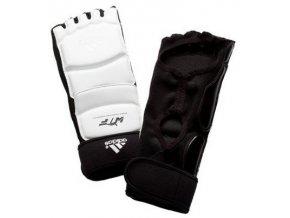 Chránič nohou Adidas WKF (Barva Bílá, Velikost XL)