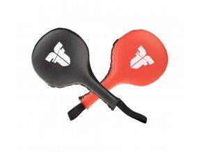 Lapy Fighter Target černo červená