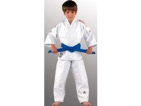 Danrho kimono judo O-Goshi (Barva Bílá, Velikost 110)