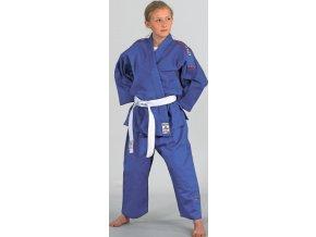 Danrho kimono Judo Yamanashi (Barva Modrá, Velikost 110)