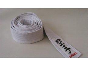 Pásek Ippon Karate Obi (Velikost 220, Barva BÍLO - ŽLUTÁ)