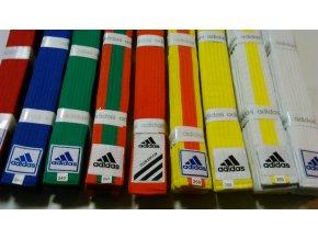 Pásek Adidas Obi (Velikost 220, Barva ŽLUTO - ORANŽOVÁ)