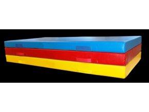 Žíněnka Classic 200 x 100 x 5cm (Barva ČERVENÁ)