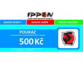 Dárkový poukaz IPPON.CZ (Velikost Poukaz v hodnotě 500)