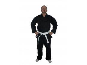 Ippon kimono Karate Standard Black (Velikost 110, Barva ČERNÁ)