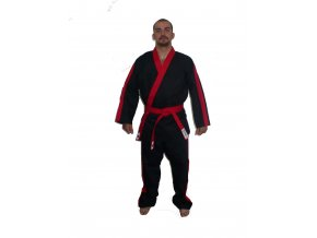 Ippon kimono Kung fu (Velikost 150, Barva ČERVENÁ)