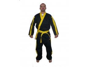 Ippon kimono Kung fu II. (Velikost 160, Barva ŽLUTÁ)