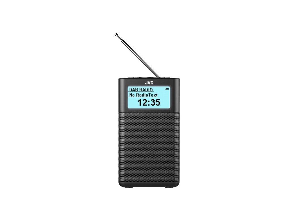 JVC kompaktní rádio RA-C20DAB + bluetooth / černý / ZÁNOVNÍ