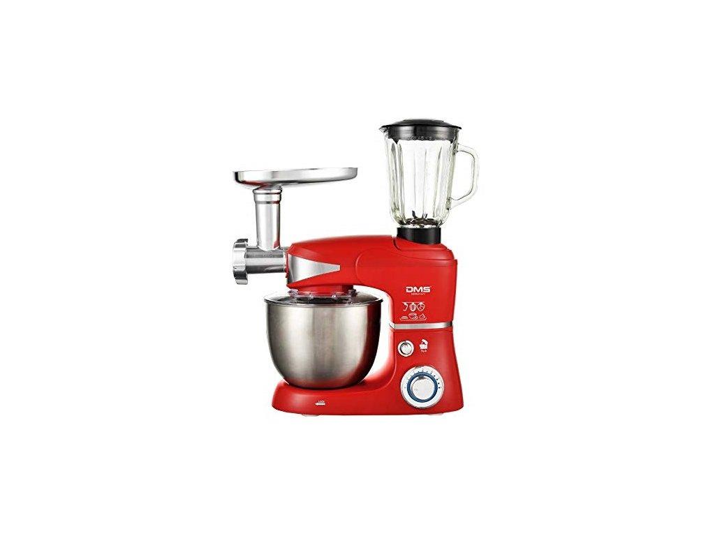 17102 dms germany kmfb 1700 kuchynsky robot 3v1 1700 w kovove prevody cervena