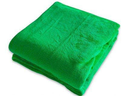 Deka z mikrovlákna 150x200 zelená