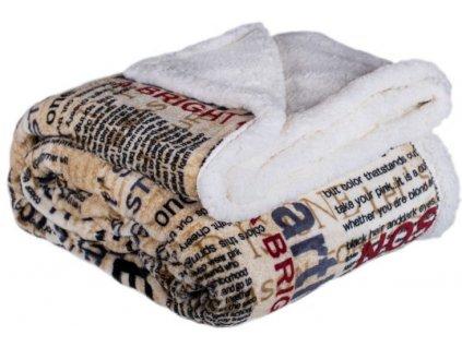 deka 150 x 200 cm beranek newspaper