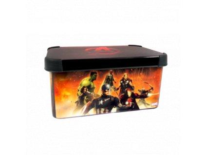 Úložný box Curver Avengers s víkem - 7 litrů