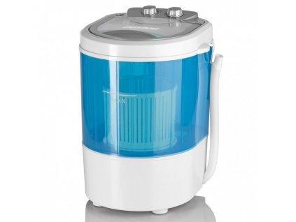 Mini pračka EASYmaxx / 260 W / nosnost 3 kg prádla / - bílo-modrá / ROZBALENO