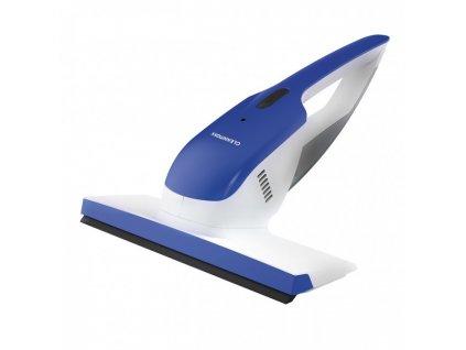 Bezdrátový vysavač na okna CLEANmaxx - bílá/modrá / ROZBALENO