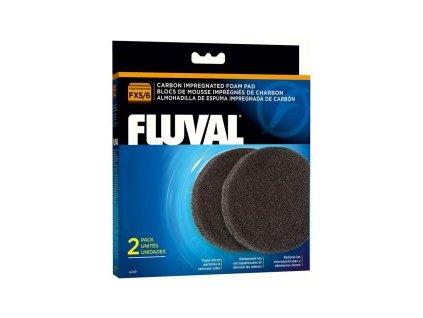 mousse charbon fx4 6 2x fluval 33 a249 fluval