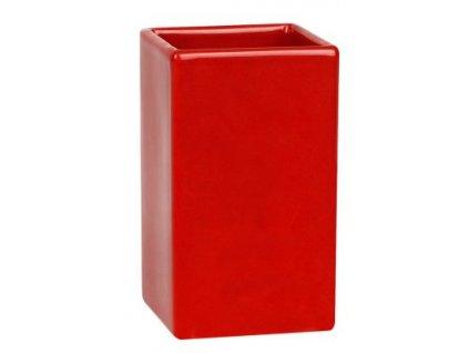 Spirella QUADRO RED kelímek / červený