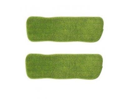 Náhradní utěrky na mop CLEANmaxx - sada 2 ks / zelená