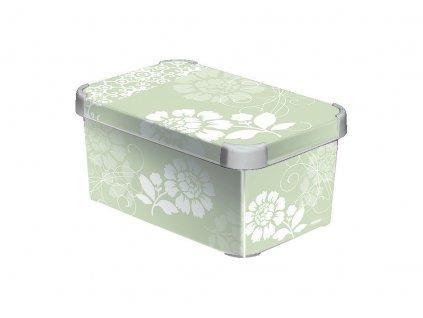Dekorativní úložný box Curver S ROMANCE 04710-D64