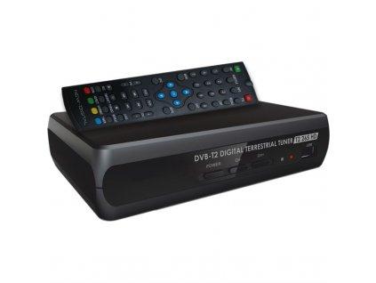 Set-top box NEW DIGITAL T2 265 HD / černý / ROZBALENO