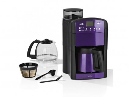 113990 kavovar s mlynkem beem fresh aroma perfect v2 1000 w 1 25 l fialova zanovni