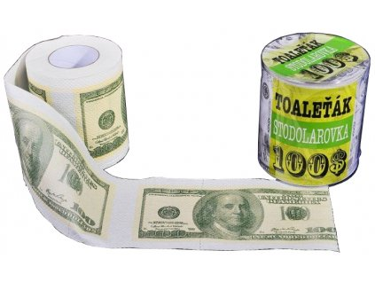 toaletni papir 100 dolarovka