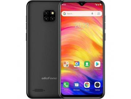 Mobilní telefon UleFone Note 7 Dual SIM / černá / ROZBALENO