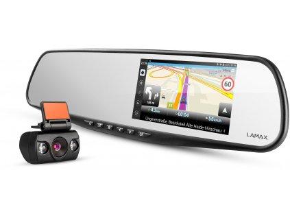 Autokamera LAMAX S5 Navi+ / černá / ZÁNOVNÍ