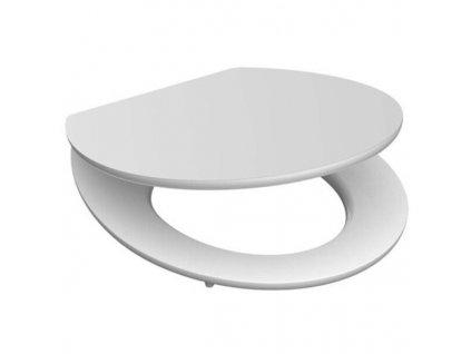 6712184 Eisl WC Sitz White Holzkern mit Absenkautomatik xxl