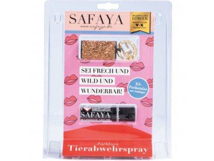 5253210 Safaya Tierabwehrspray rosegoldene Steine 15 ml original
